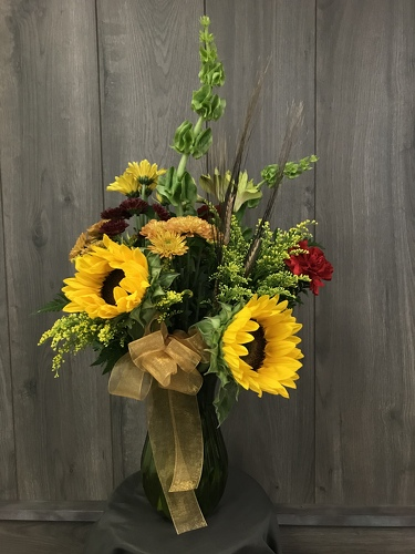 Fall Harvest Bouquet from Ginger's Flowers &Gifts, local Martinsburg florist