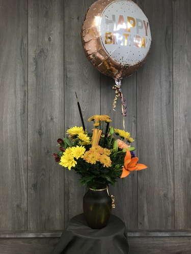 Fall Birthday  from Ginger's Flowers &Gifts, local Martinsburg florist