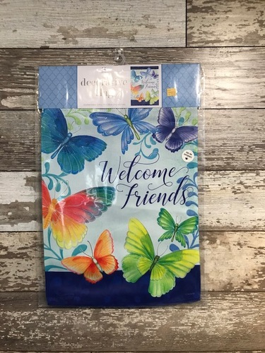 Garden Flag from Ginger's Flowers &Gifts, local Martinsburg florist