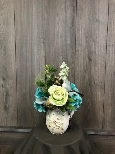 Easy Green (Silk) from Ginger's Flowers &Gifts, local Martinsburg florist