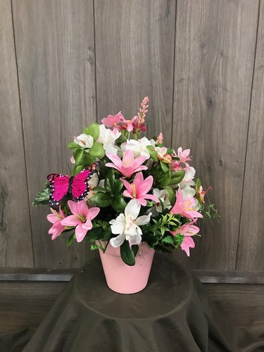 Pink Perfection (Silk)  from Ginger's Flowers &Gifts, local Martinsburg florist