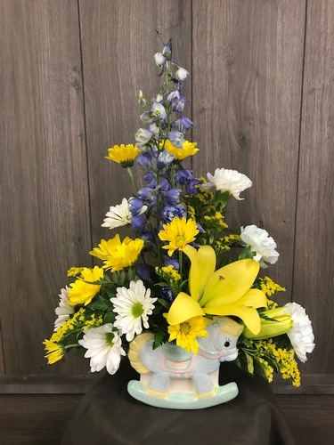 Welcome Baby! from Ginger's Flowers &Gifts, local Martinsburg florist