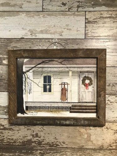 Christmas Farmhouse Picture from Ginger's Flowers &Gifts, local Martinsburg florist