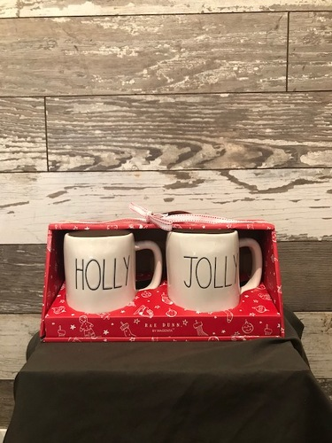 Christmas Mugs  from Ginger's Flowers &Gifts, local Martinsburg florist