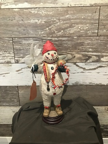 Snowman  from Ginger's Flowers &Gifts, local Martinsburg florist