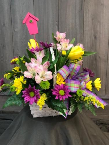 Happy Easter Bouquet from Ginger's Flowers &Gifts, local Martinsburg florist