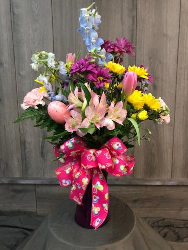 Welcome Spring! from Ginger's Flowers &Gifts, local Martinsburg florist