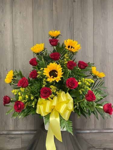 Sincere Respect from Ginger's Flowers &Gifts, local Martinsburg florist