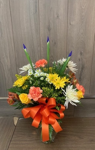 Bursts of Color from Ginger's Flowers &Gifts, local Martinsburg florist