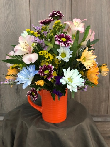 Happy Birthday Mug from Ginger's Flowers &Gifts, local Martinsburg florist