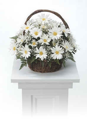 Basket Arrangement from Ginger's Flowers &Gifts, local Martinsburg florist