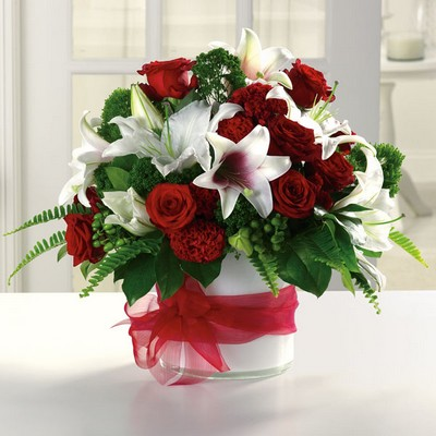 Garnet Grandeur from Ginger's Flowers &Gifts, local Martinsburg florist